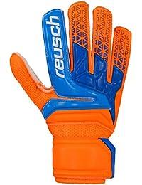 ac4e1216b73 Reusch Guantes Portero niños Prisma SD Easy Fit Junior, Color Blau/Orange  (953