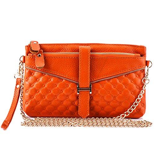 GSPStyle, Borsa a spalla donna Arancione (arancione)