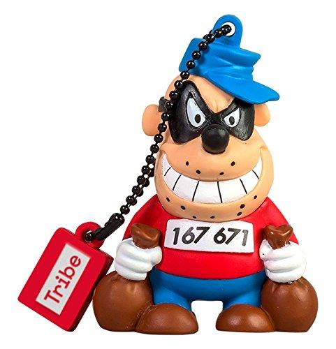 Tribe disney beagle boy chiavetta usb da 16 gb pendrive memoria usb flash drive 2.0 memory stick, idee regalo originali, figurine 3d, archiviazione dati usb gadget in pvc con portachiavi - multicolore