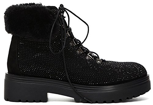 Bottines - Boots, couleur Gris , marque CAFENOIR, modèle Bottines - Boots CAFENOIR FD910 Gris