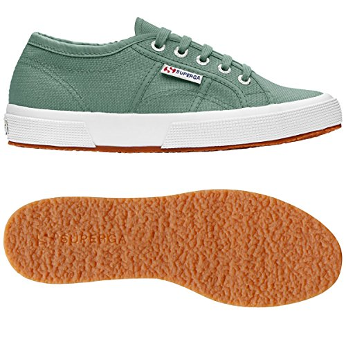 Schuhe Superga Sneakers Herren Damen Unisex 2750-plus Cotu Frühling Sommer Herbst Winter Green Malachite