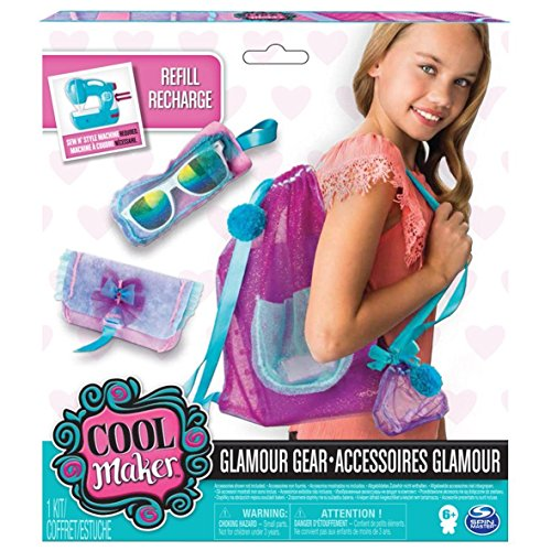 Nähen Sie cool Nähen N Style Project Kit Glamour Gear - Pom-pom Maker Kit