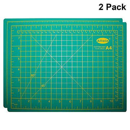 Alfombrilla Corte A4 2 piezas - Autorreparable Silicona