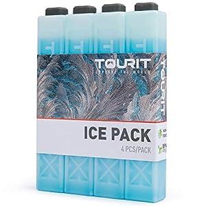 TOURIT Kühlakkus für Kühltasche Kühlbox Kühlrucksack Wiederverwendbar Geeignet für Reisen