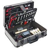 Arebos 600 teiliger Werkzeugkoffer / 4 Ebenen/Schraubendreher, Zangen, Schraubenschlüssel, Bits