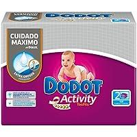 Dodot - Activity toallitas - 2 x 54 toallitas