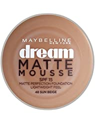 Maybelline Dream Matte Mousse Foundation 48 - Sun Beige