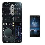 c00627 - Cool Dj Mixer Controller Clubber Music Rave Design Nokia 8 Fashion Trend Silikon Hülle Schutzhülle Schutzcase Gel Silicone Hülle
