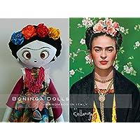 Bambola di pezza - Boninga Dolls: Frida Kahlo (Nuova versione)