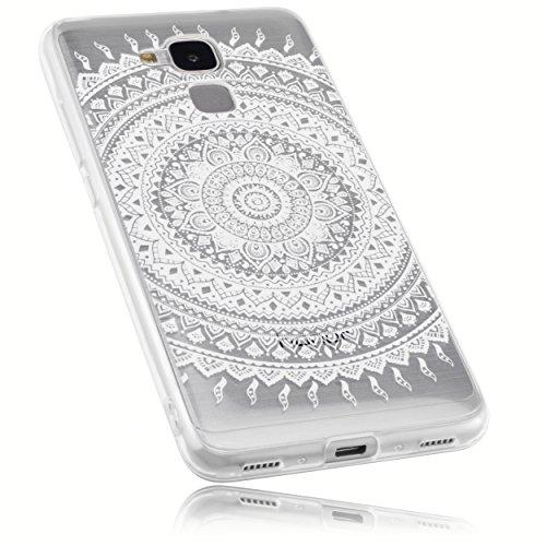 mumbi Schutzhülle Huawei Honor 5C Hülle im Mandala Design