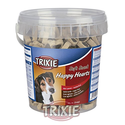 Bote Soft Snack Happy Hearts, 500 g, Cordero