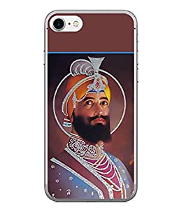PrintVisa Designer Back Case Cover for Apple iPhone 6 Plus :: Apple iPhone 6+ (Sache Badshah Waheguru Sikhi )