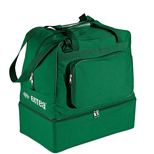 Borsone errea borsa basic verde con fondo rigido