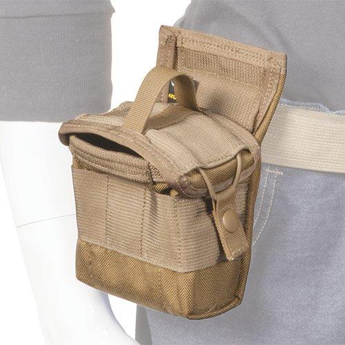 Atlas 46 AIMS Maßbandtasche mit Sicherheitsklappe, Coyote - handgefertigt in den USA - Usa 46