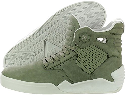Scarpe Uomo Nero Bianco Supra Skytop Sneakers Men Laurel Shoes S99019-40