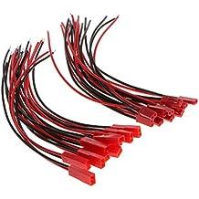 10pcs JST 2 Clavija Alambre Cable de Batería Lipo Conector Conjunto de Alta Calidad - 15cm