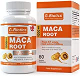 G-Biotics Maca Root Extract Capsules - EXTRA HIGH GRADE - UK MADE - ON SALE NOW!