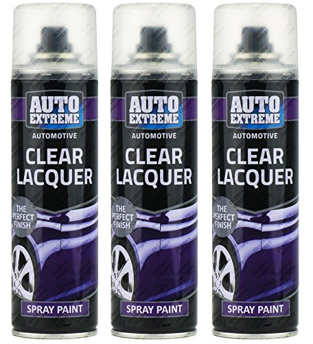 3-x-250ml-clear-lacquer-gloss-spray-paint-aerosol-quickdrying-auto-bike-car-van