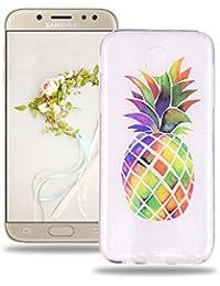 a14beaddd4ec0b Baiwoda Coque Samsung Galaxy J5 2017 SM-J530F Protective Soft Silicone Case  Etui en Caoutchouc