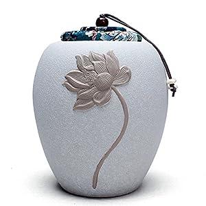 Boîte à Thé En Porcelaine,Coffret à Thé En Céramique,Canister De Thé,Boîte à Thé Le Caddy Pu ' Er Boîtes De Thé Mug