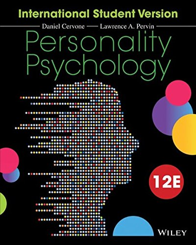 Personality Psychology, 12th Edition International Student Version