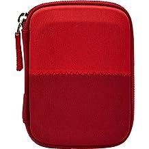 """Case Logic HDC11R - Funda rígida para disco duro de 2.5"""", color rojo"""