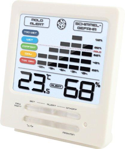 Technoline Temperaturstation WS 9420 mit Innentemperatur- und Innenluftfeuchteanzeige sowie Schimmelalarm
