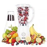Duronic BL4 Batidora Americana de Vaso para Frutas y Verduras y Molino de Café / Molino para...