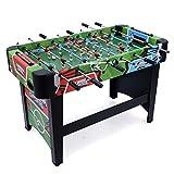 JumpStar 4ft Stadium Football Table Full Size Footy Game Foosball