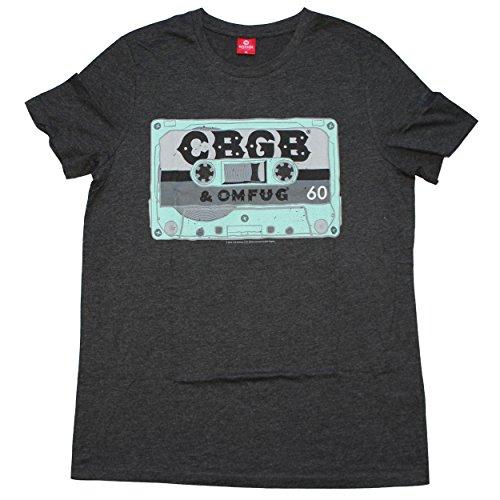 CBGB Cassette Camiseta Gris/Melé M