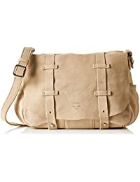 Mila Louise Bess Croute, Sac messenger - Beige (Sand), Taille Unique