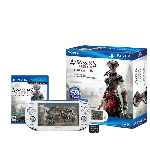 Assassin`s Creed III Liberation Bundle PS VITA - Sony Bundle Ps Vita