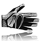 Cutters S251 REV 2.0 American Football Receiver Handschuhe, schwarz, Gr. S-2XL S