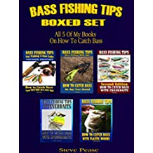 Bass Fishing Tips Boxed Set: All 5 of my books on how to catch bass (English Edition)