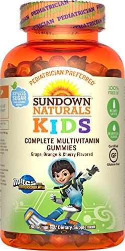 Productos naturales del ocaso - Niños completan multivitamínico millas de...