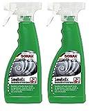 Práctico Juego. 2X 500ML SONAX humo EX olor Killer Spray ambientador Fresh neutralizador de olores olor