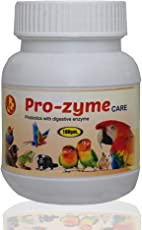 Pet Care International (PCI) Pro-Zyme Care Probiotics with Digestive Enzymes for Healthy Digestive System of Reptiles, Hamster, Marmoset, Iguana, Geko, Dwarf, Gerbil Healthcare (100grm)