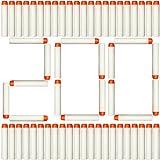 Limirror 200er Refill Bullets für N-Strike Elite, Nachfüllpack Spielzeug für draußen, Darts Pfeile für Nerf Zubehör (200er, Weiß)