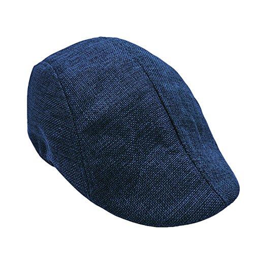 EERTX - ♛♛ Barett Cap Herren Schiebermütze Gatsby Schirmmütze Newsboy Flat Cap Baskenmütze 1920 Stil Gatsby Kostüm Accessoires