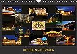 BONNER NACHTFARBEN (Wandkalender 2018 DIN A4 quer): Nachtaufnahmen der schönen Stadt Bonn (Monatskalender, 14 Seiten ) (CALVENDO Orte) [Kalender] [Apr 01, 2017] Bonn, BRASCHI