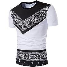 Bianco etnica Amazon uomo camicia it vwx8nO