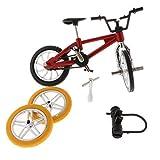 KESOTO Alliage Mini Doigt BMX Vélo De Montagne Jouet W / 2X Roue De Secours Vélo...