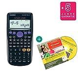 Casio FX-82DE Plus + Lern-CD (auf Deutsch) + Erweiterte Garantie