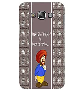 PrintDhaba Funny Quote D-6057 Back Case Cover for SAMSUNG GALAXY A8 (Multi-Coloured)