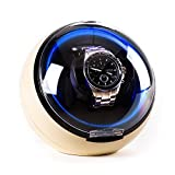 Klarstein St. Gallen-Deux • Uhrenbeweger • Uhrendreher • Uhrenkasten • Uhrenbox • Kapazität: 1 x Automatikuhr • 4 vorprogrammierte Bewegungs-Modi • Rechts-Links Lauf • Laufruhig • creme