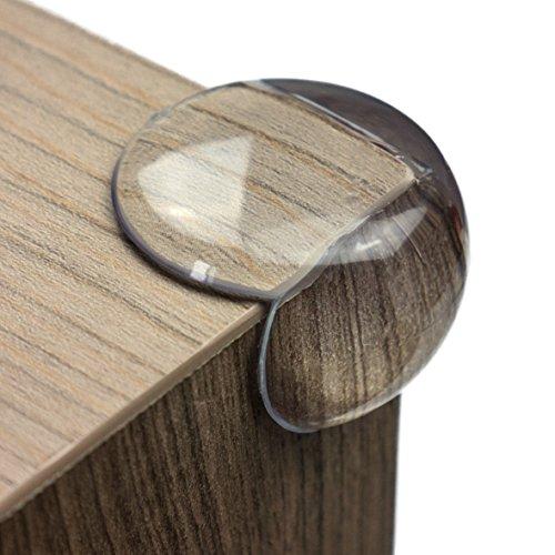 maliveo Premium Eckenschutz und Kantenschutz transparent aus Kunststoff für Tisch- und Möbel-Ecken - Stoßschutz für Baby's und Kinder (12er-Pack) Test