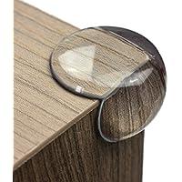 maliveo Premium Eckenschutz und Kantenschutz transparent aus Kunststoff für Tisch- und Möbel-Ecken - Stoßschutz für Baby's und Kinder