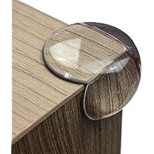 maliveo Premium Eckenschutz und Kantenschutz transparent aus Kunststoff für Tisch- und Möbel-Ecken - Stoßschutz für Baby's und Kinder (12er-Pack)