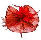 Fascigirl Pluma Horquillas Para el Pelo Boda Ceremonia Accesorio para el Cabello decoración
