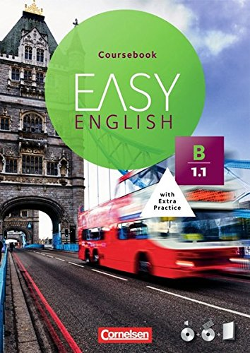 Easy English: B1: Band 1 - Kursbuch mit Audio-CD und Video-DVD